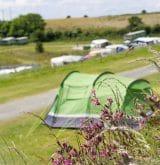 Camping in Cornwall at Tencreek