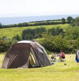 camping in Cornwall at Tencreek