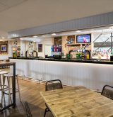 Castaways bar at Tencreek Holiday Park