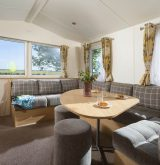 Sunbeam caravan lounge