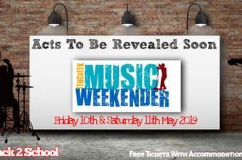 May MUSIC WEEKENDER!