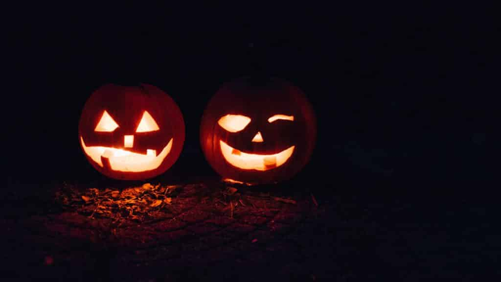 Carved pumpklins