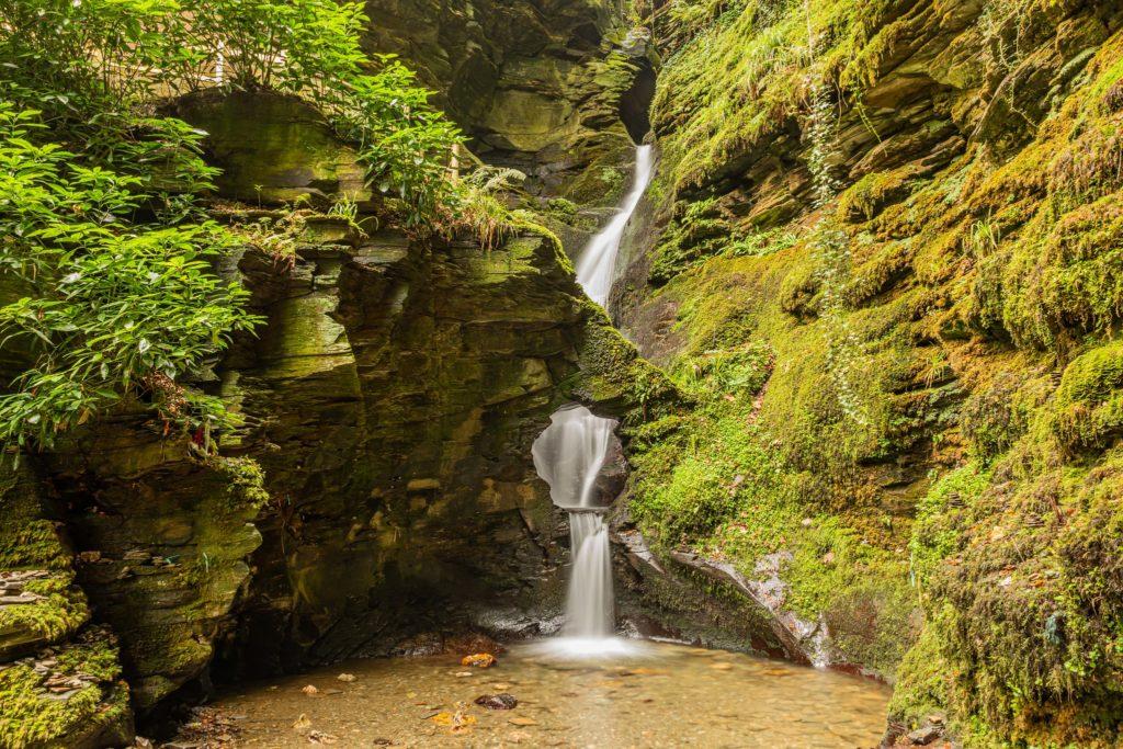 St Nectan's Glen and waterfalls