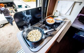 A guide to cooking in a caravan