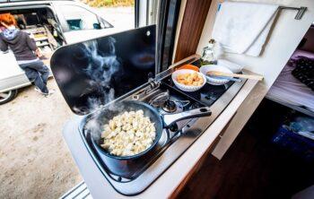 Tips for cooking in a caravan