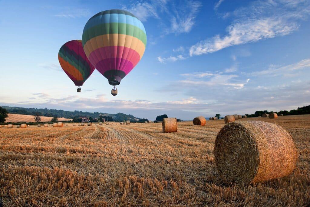 Hot air balloon rides in Cornwall
